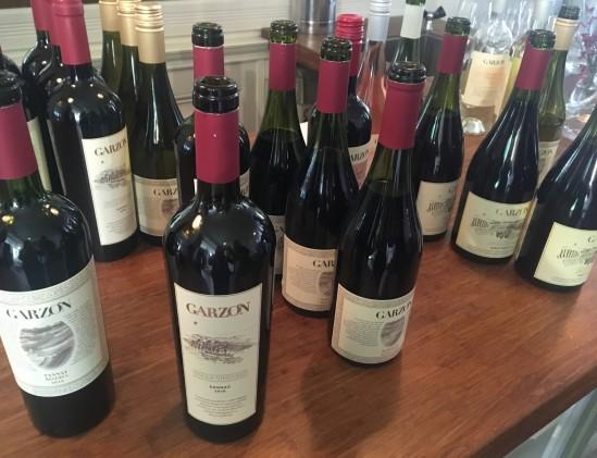 Geproefde wijnen van Garzòn