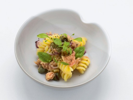 Fusilli con tonno uit het kookboek Pasta, il primo piatti