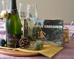 Cadeaubon van Wijn&Spijs Kerst