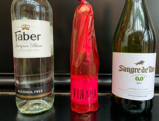 Getest Vinada versus Wino