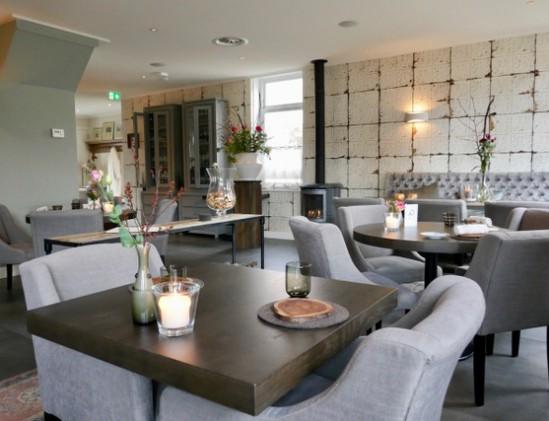 Interieur van restaurant Pieters