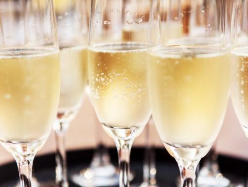 Champagne, bubbels alcoholvrij