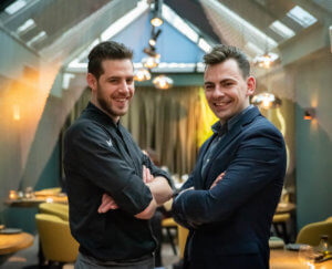 De eigenaars van restaurant Eden