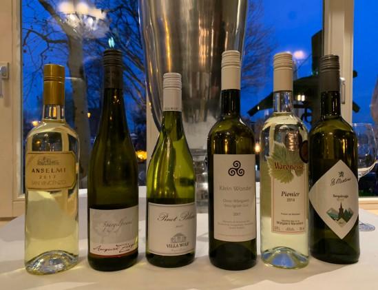 Zes finale wijnen van aspergewijn 2019