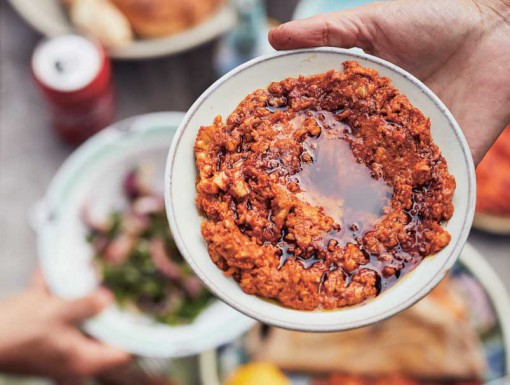 Muhammara: Paprika-walnoten dip