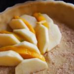 Elzasser appeltaart met mango