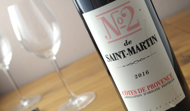 Château Saint Martin rood