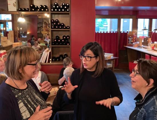 Lisa Anselmi bij Enoteca Realda