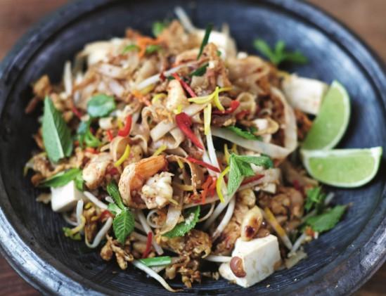 Pad Thai van Jamie Oliver