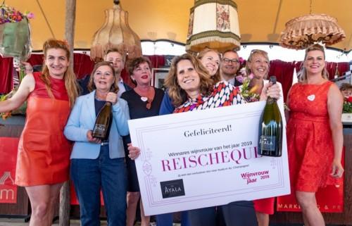 Birthe van Meegeren wint titel Wijnvrouw van het Jaar 2019