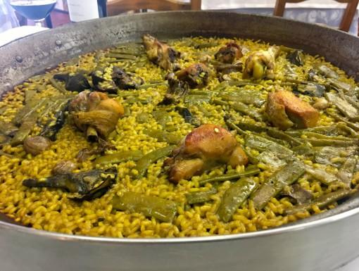 Paella Valencia bij Casa Carmela in Valencia