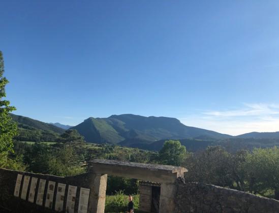 Gastlocatie Die in de vallée de la Drôme