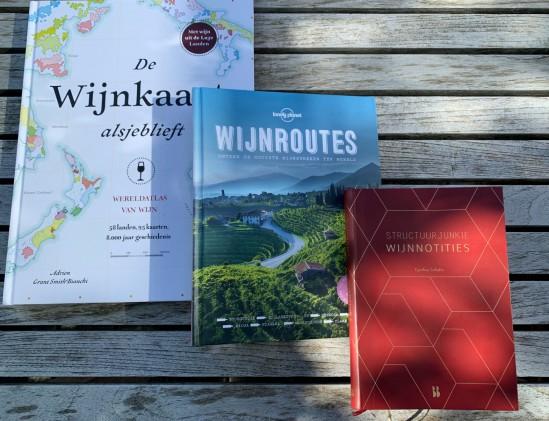 3 x wijnboeken tuin