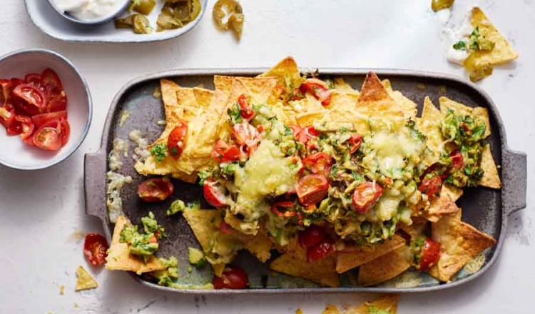 Nacho's uit de oven uit het kookboek Zonder Fratsen van Anita Witzier