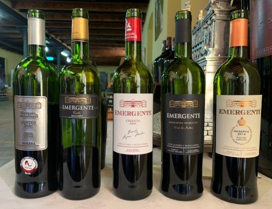 De wijnen van Marqués de Montecierzo