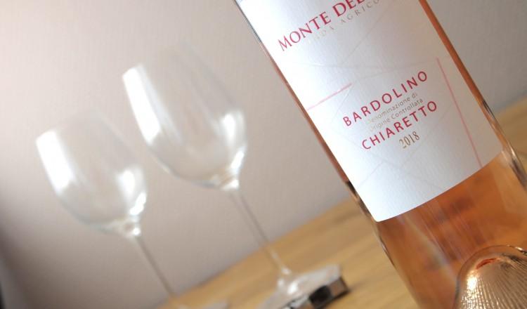 Chiaretto rosé van Monte del Frà
