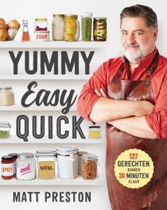 Cover Yummy Easy Quick van Matt Preston