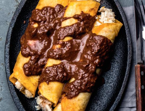 Enchilada als voorbeeld