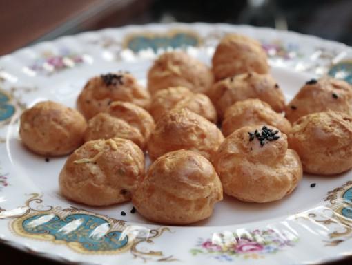 Gougères Franse kaassoesjes