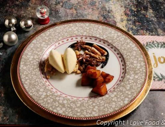 Losgeslagen appeltaart uit de Cook like a Chef-box