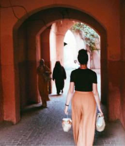 Sfeerbeeld van Nadia in Marokko uit Henna Hanina