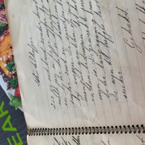 Wentelteefjes uit het schrift van mijn moeder