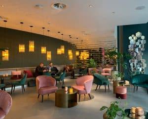 Interieur van JAQ in Rotterdam
