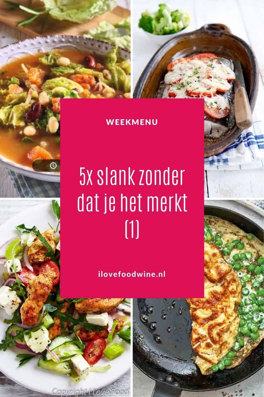 Slank & gezond, maar bovenal héél lekker; dat zijn deze 5 calorie-arme gerechten. Alles onder de 500 calorieën. Voor ieder wat wils, vegetarisch, vis en vlees. Maar altijd met veel groenten.#slank #calorie-arm #gezond #afvallen #gewichtverlies