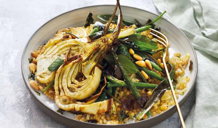 Ziltige parelcoucous met venkel uit het kookboek Intermittent Fasting van Nanneke Schreurs en José van Riele