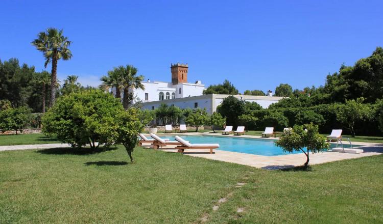 Masseria Incantalupi met zwembad