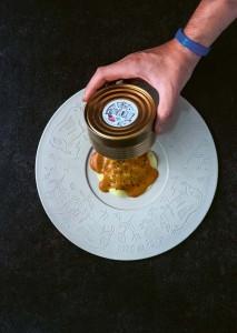 Ravioli uit blik van Cochon de Luxe uit het boek XII Gent