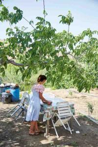 Sfeerfoto van Georgina Hayden in Cyprus