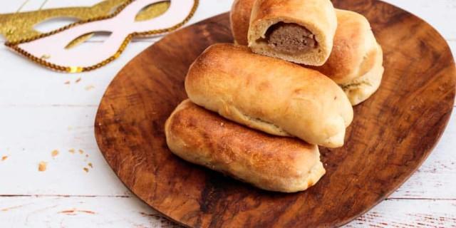Brabants worstenbroodje voor Carnaval van Mieke