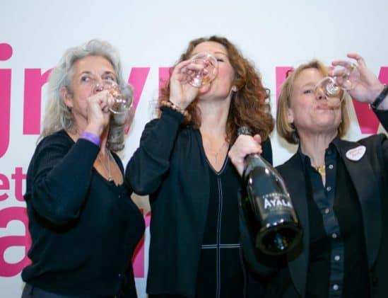 Drie genomineerde wijnvrouwen 2020