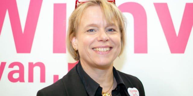 Anja Vondenhoff lachend ivm nominatie 2020