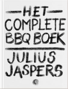 Cover complete bbq boek van Julius Jaspers