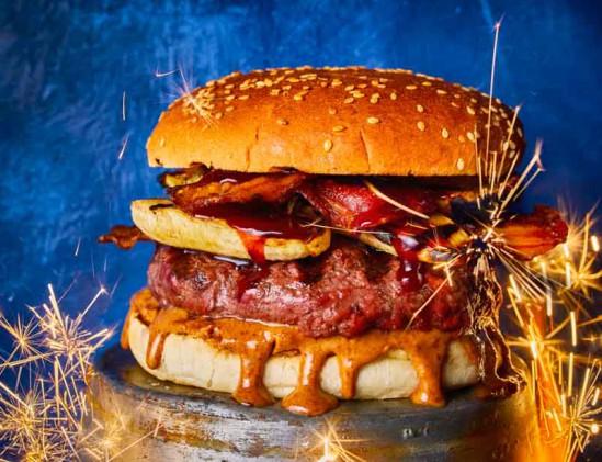 The Elvis Burger uit het kookboek Burgers & BBQ Bites van Jord Althuizen
