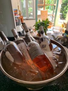 Proeverij rosé wijn thuis