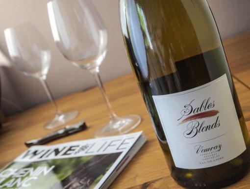 Vouvray Loire Sables Blonds, een chenin blanc uit de Loire