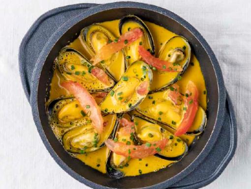Mosselen à la Wout Bru uit het kookboek Joie de Vivre