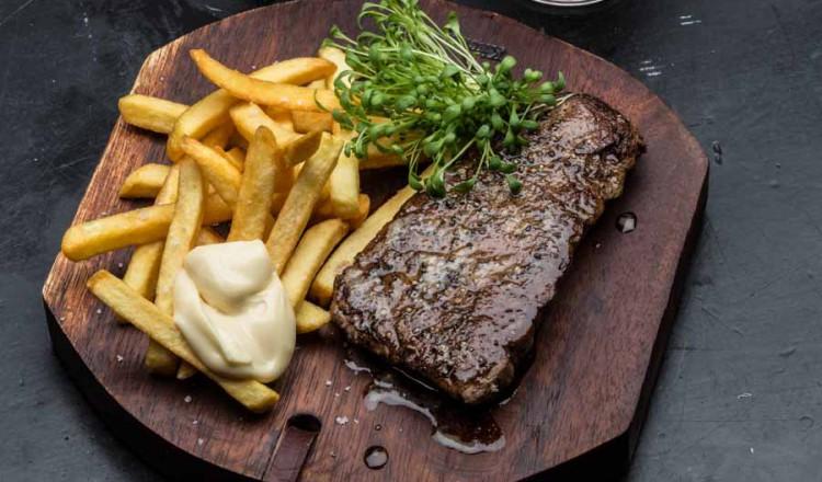 Steak met friet