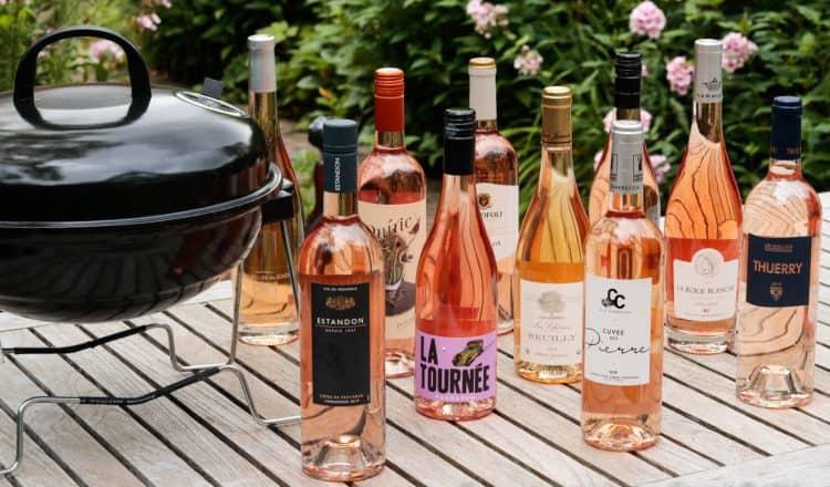 BBQ wijn rosé beoordeeld