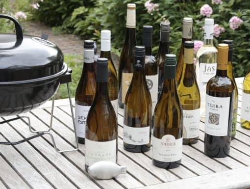 BBQ wijn wit beoordeeld