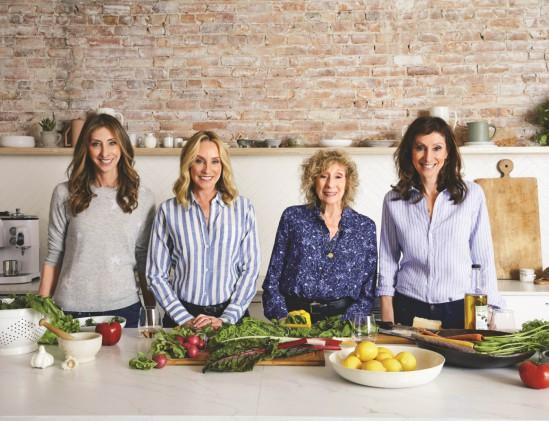 Portret van Familie Pollan, schrijvers van Boordevol groenten
