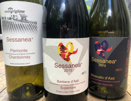 Proefpakket van de wijndomein Sassanea uit Piëmonte