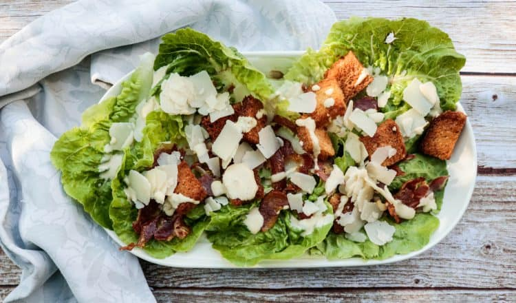 Caesar Salade op schaal