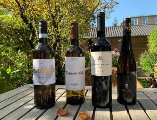 Wijnflessen bij Sterrenchef Box