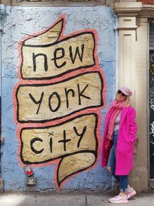 Femke Pruis in New York
