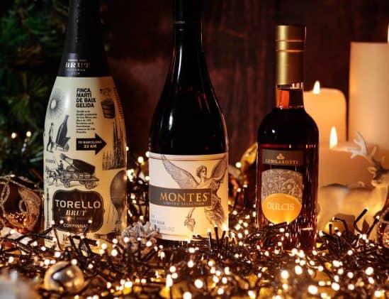 Kerst wijnspijs box Viqh aan huis