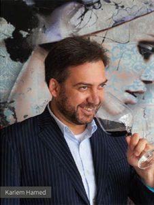 Portret Kariem Hamed